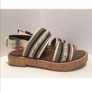 Sam Edelman Nala Strappy Sandal Size 6.5 cork sole
